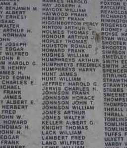 Staveley War Memorial large