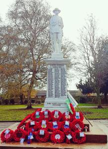 Staveley Remembrance 2014