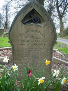 Riley Headstone